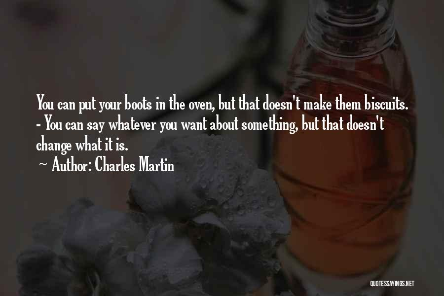 Something You Can't Change Quotes By Charles Martin