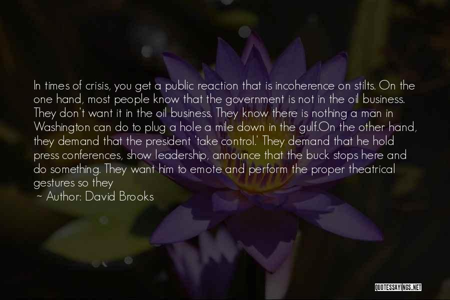 Something You Can't Change Quotes By David Brooks