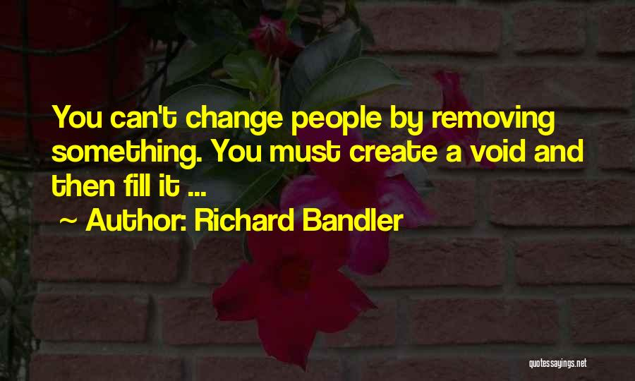 Something You Can't Change Quotes By Richard Bandler