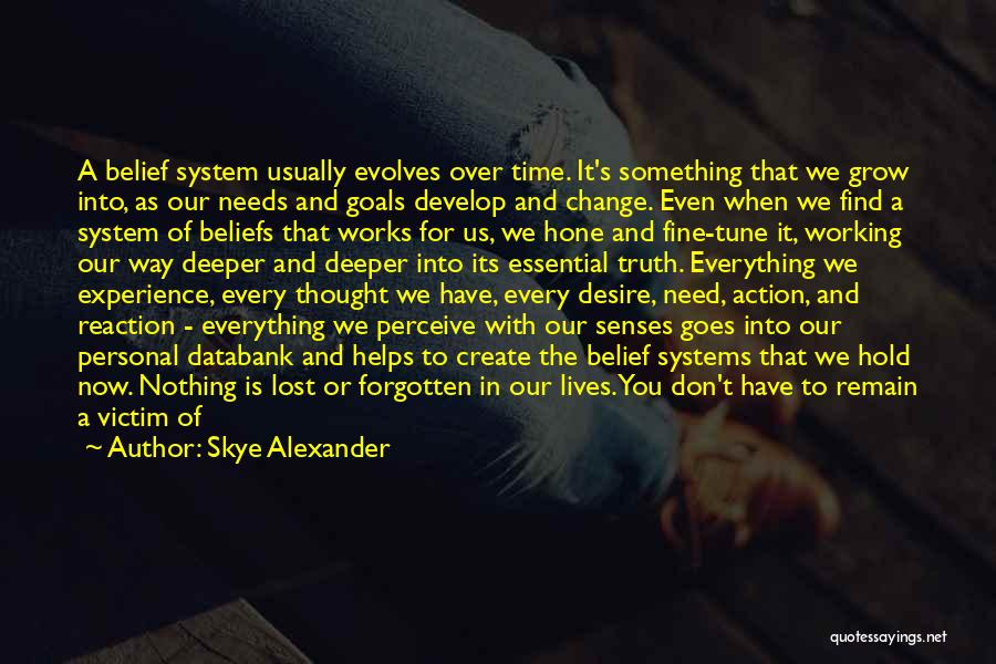 Something You Can't Change Quotes By Skye Alexander