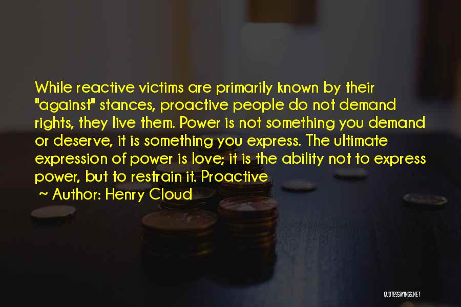 Something You Deserve Quotes By Henry Cloud