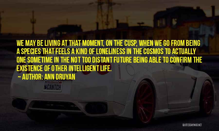 Sometime Life Quotes By Ann Druyan