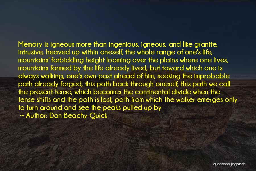 Sometime Life Quotes By Dan Beachy-Quick