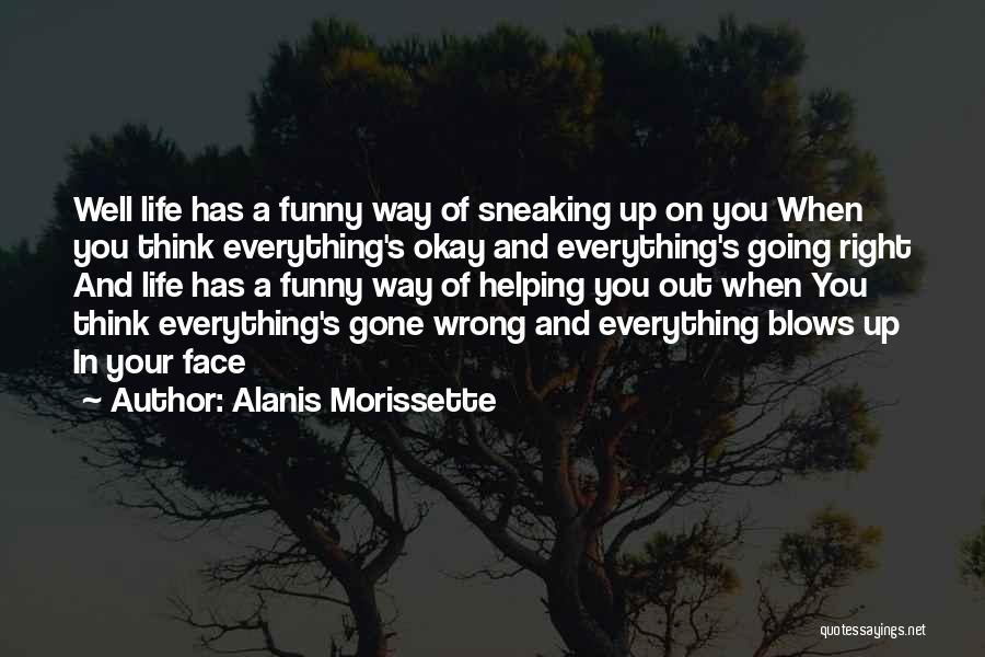 Sometimes Everything Goes Wrong Quotes By Alanis Morissette