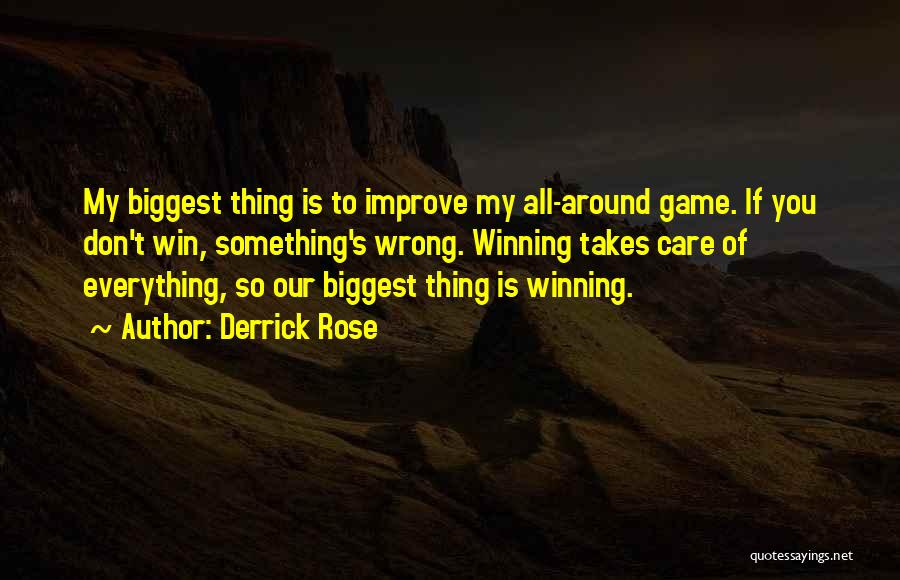 Sometimes Everything Goes Wrong Quotes By Derrick Rose