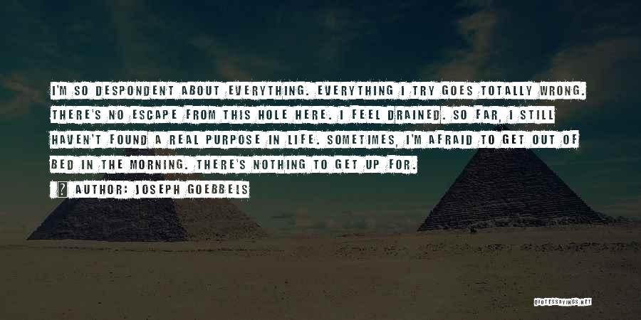 Sometimes Everything Goes Wrong Quotes By Joseph Goebbels