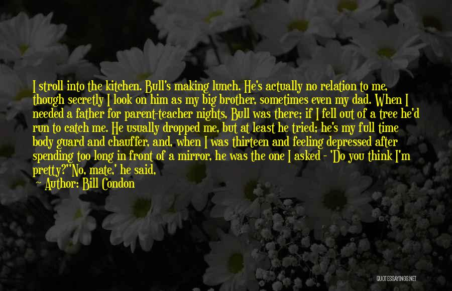 Sometimes I Look In The Mirror Quotes By Bill Condon