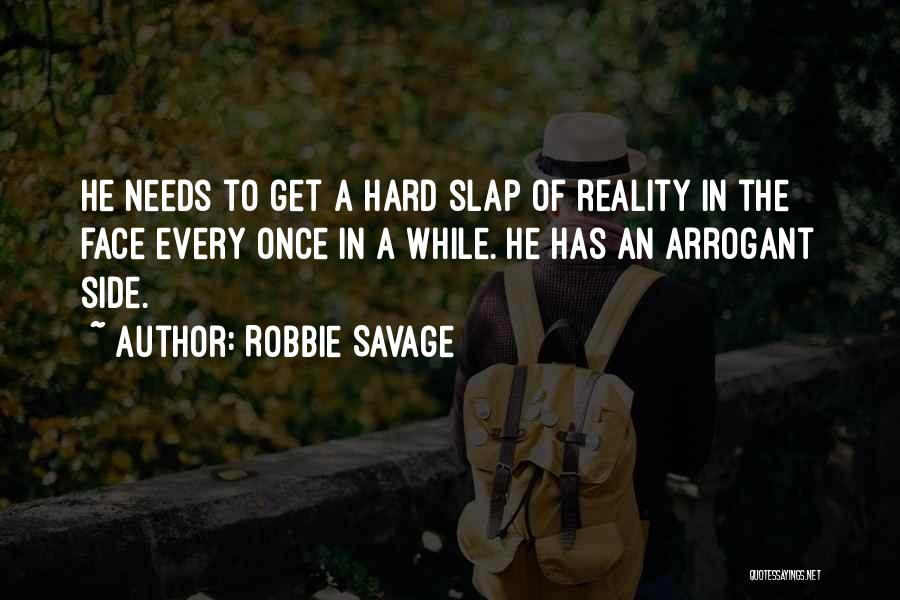 Sometimes It's Hard To Face Reality Quotes By Robbie Savage