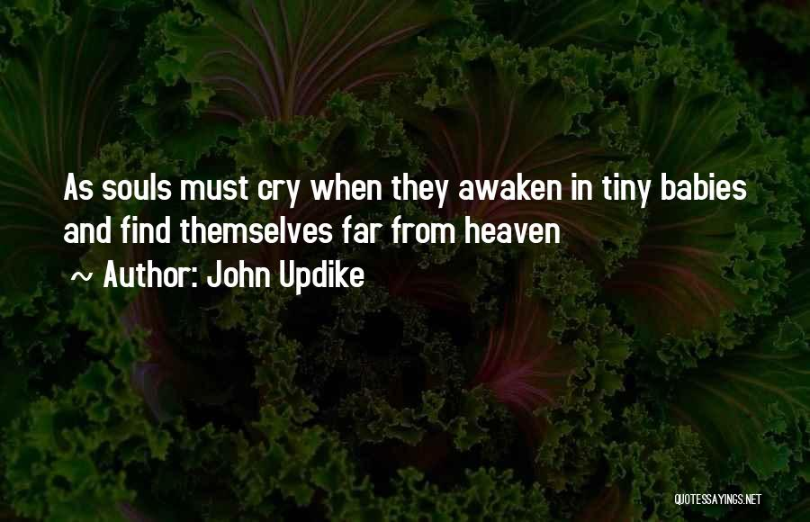 Sometimes It's Ok To Cry Quotes By John Updike