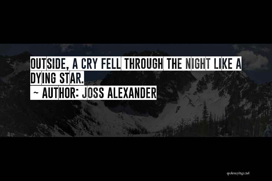 Sometimes It's Ok To Cry Quotes By Joss Alexander