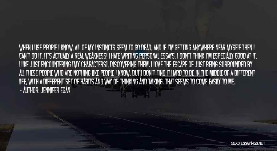 Sometimes Life Gets Hard Quotes By Jennifer Egan