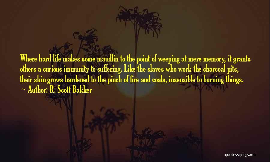 Sometimes Life Gets Hard Quotes By R. Scott Bakker