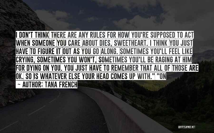 Sometimes Someone Comes Along Quotes By Tana French