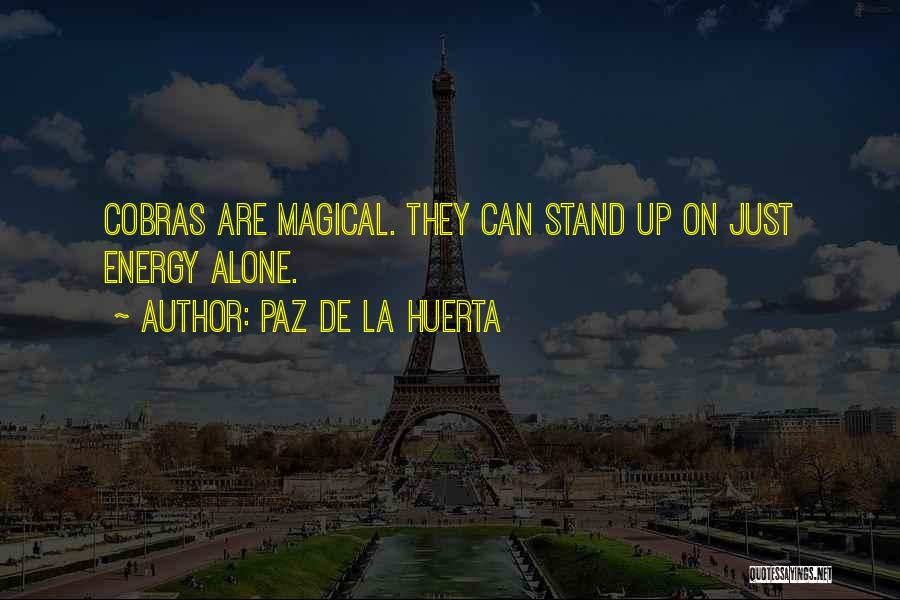 Sometimes We Have To Stand Alone Quotes By Paz De La Huerta