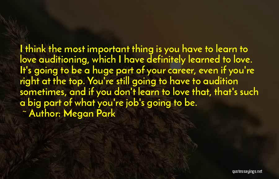 Sometimes What You Think Quotes By Megan Park