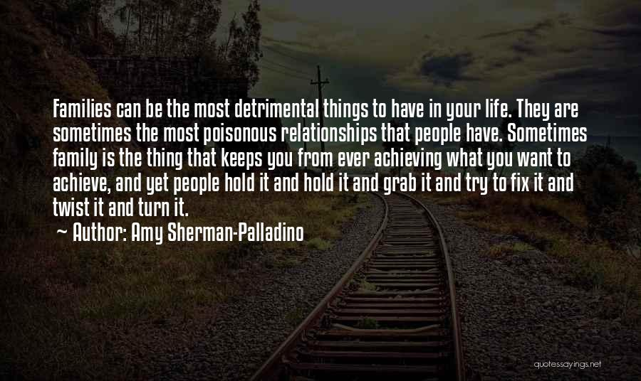 Sometimes What You Want Quotes By Amy Sherman-Palladino