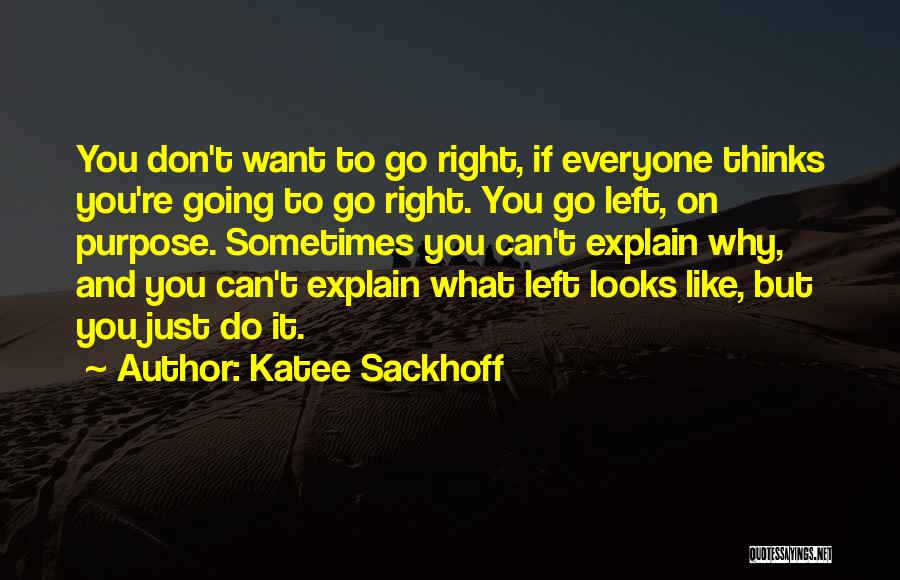 Sometimes What You Want Quotes By Katee Sackhoff
