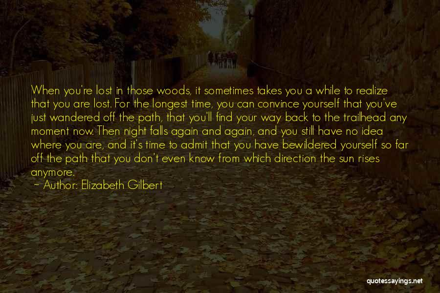 Sometimes You Have To Realize Quotes By Elizabeth Gilbert