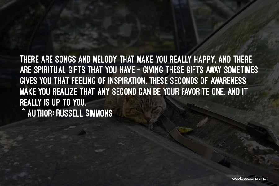 Sometimes You Have To Realize Quotes By Russell Simmons