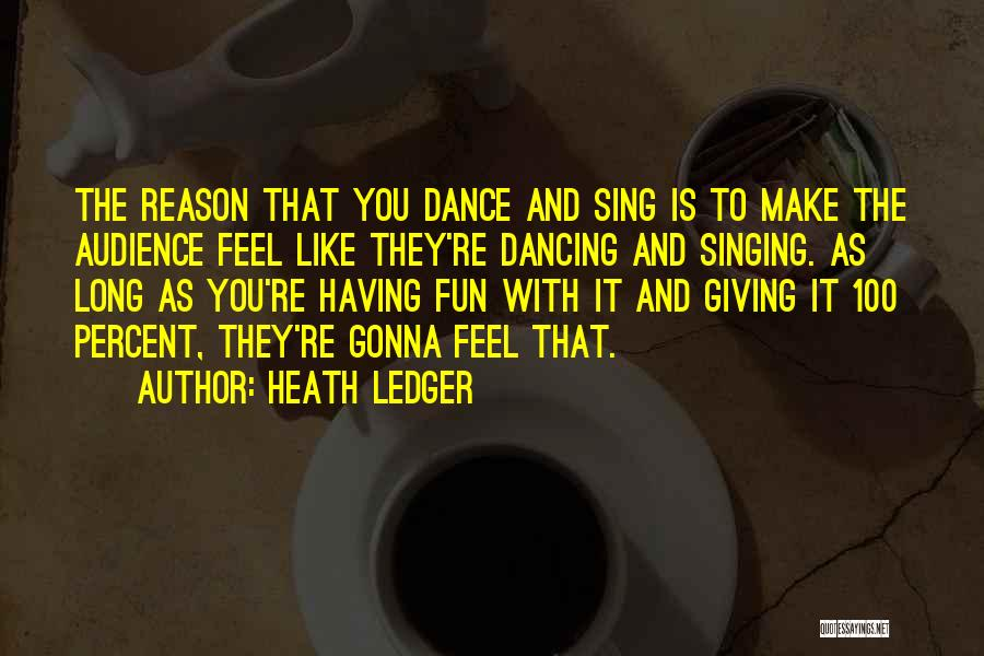 Sometimes You Just Feel Like Giving Up Quotes By Heath Ledger