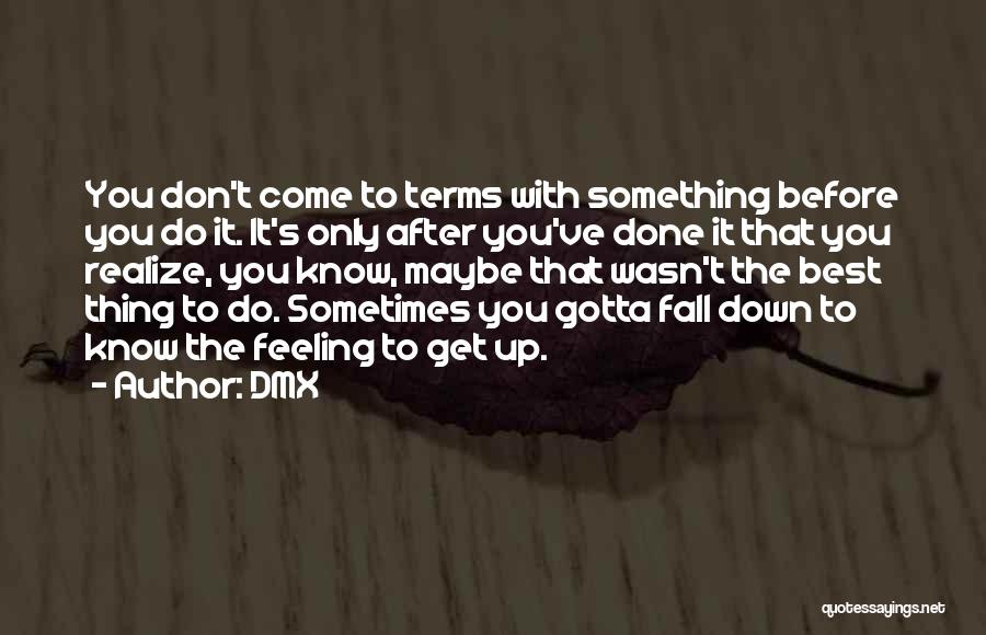 Sometimes You've Gotta Quotes By DMX