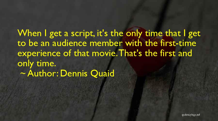 Somewhere In Time Movie Quotes By Dennis Quaid