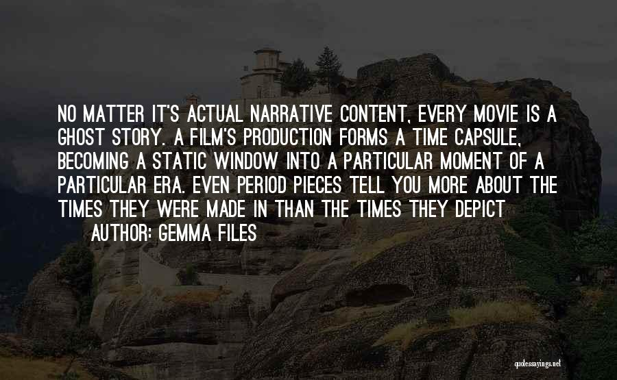 Somewhere In Time Movie Quotes By Gemma Files