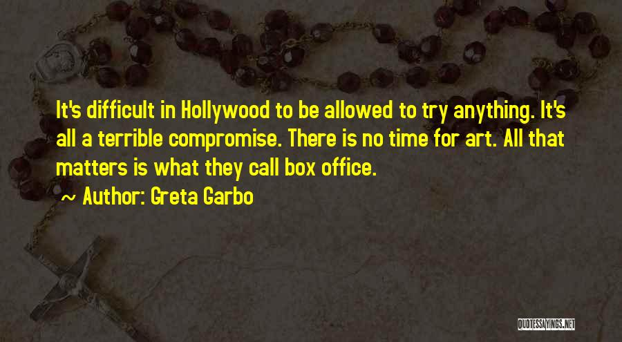 Somewhere In Time Movie Quotes By Greta Garbo