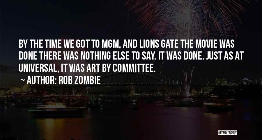 Somewhere In Time Movie Quotes By Rob Zombie