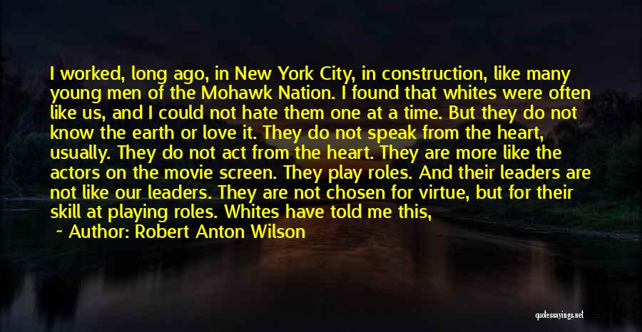 Somewhere In Time Movie Quotes By Robert Anton Wilson