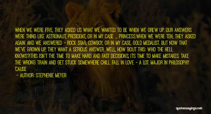 Somewhere In Time Movie Quotes By Stephenie Meyer