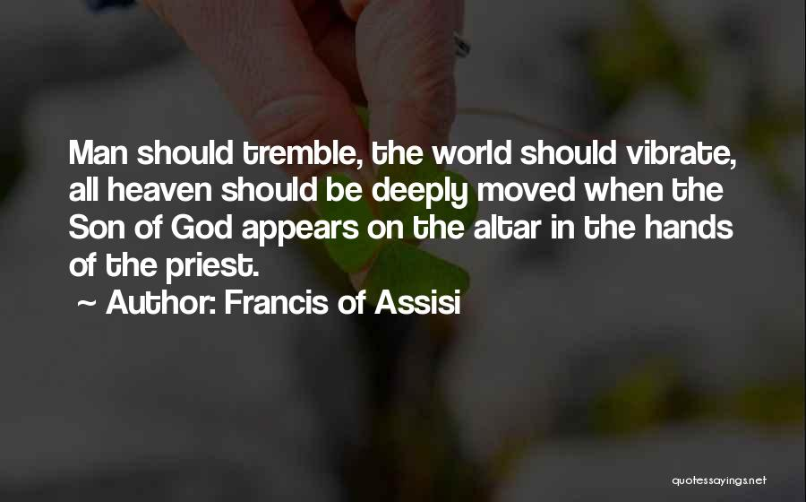 Son In Heaven Quotes By Francis Of Assisi