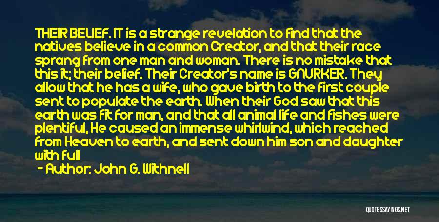 Son In Heaven Quotes By John G. Withnell