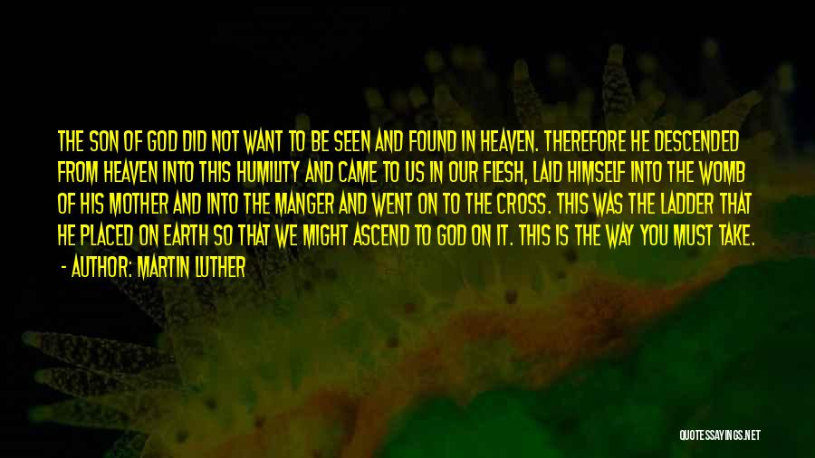 Son In Heaven Quotes By Martin Luther