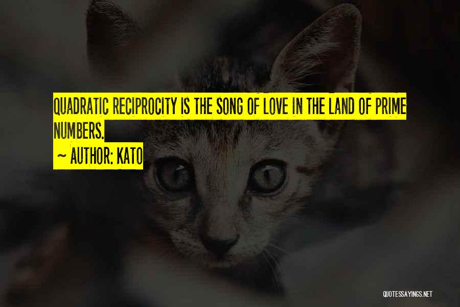 Song In Quotes By Kato