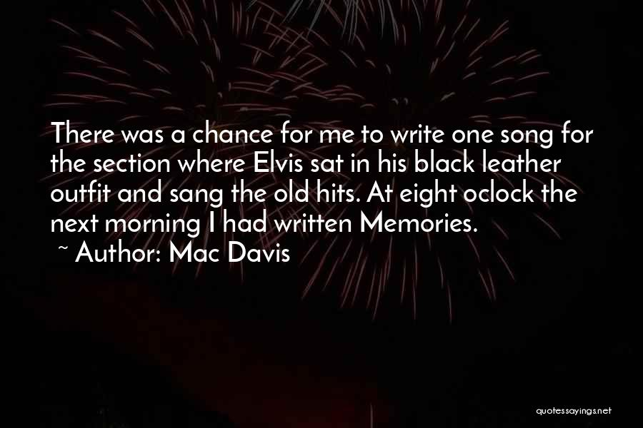 Song In Quotes By Mac Davis