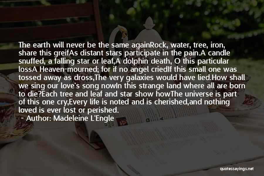 Song In Quotes By Madeleine L'Engle