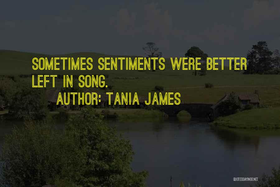 Song In Quotes By Tania James