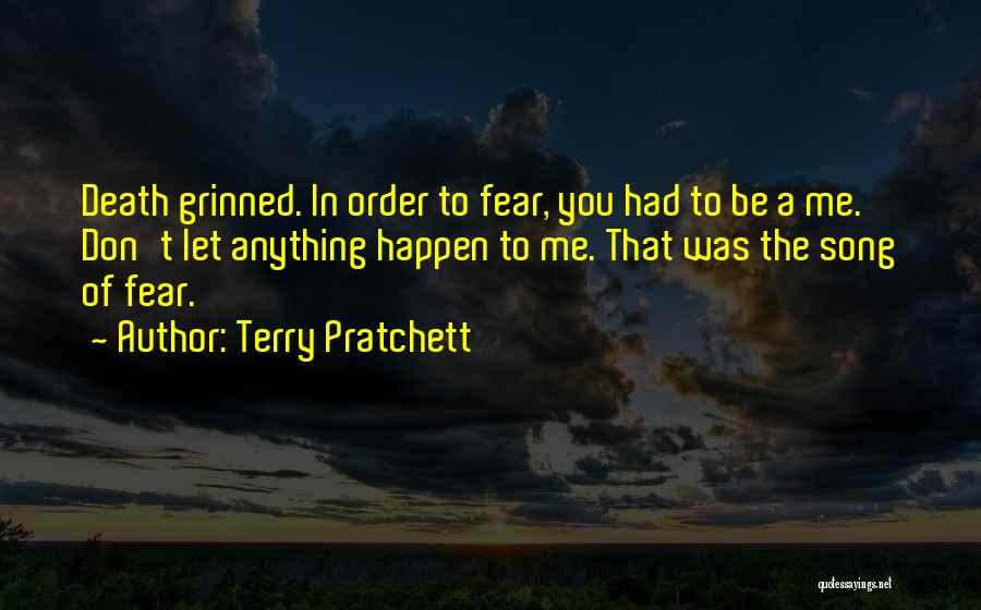 Song In Quotes By Terry Pratchett