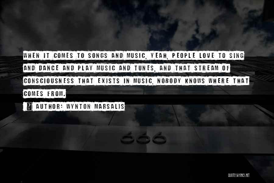 Song In Quotes By Wynton Marsalis