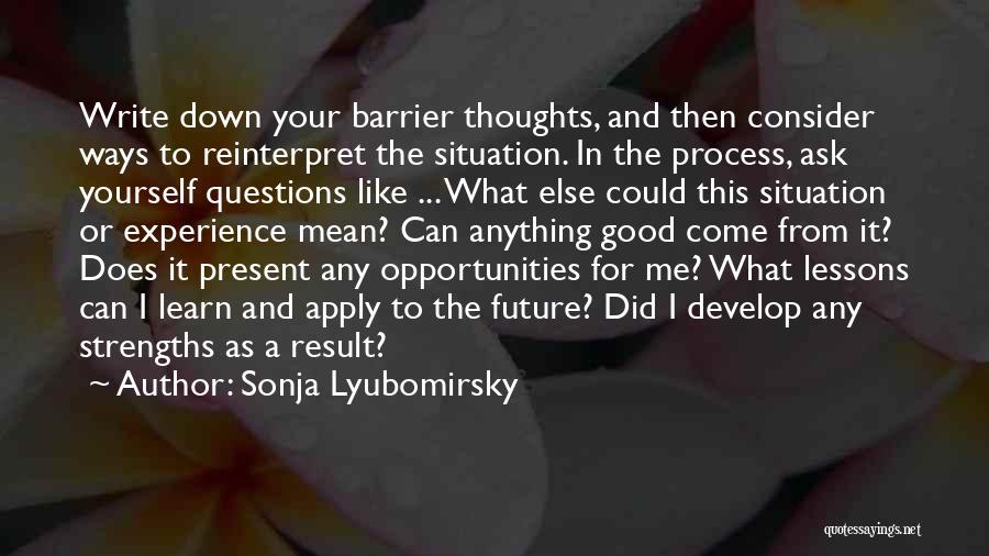 Sonja Lyubomirsky Quotes 447277