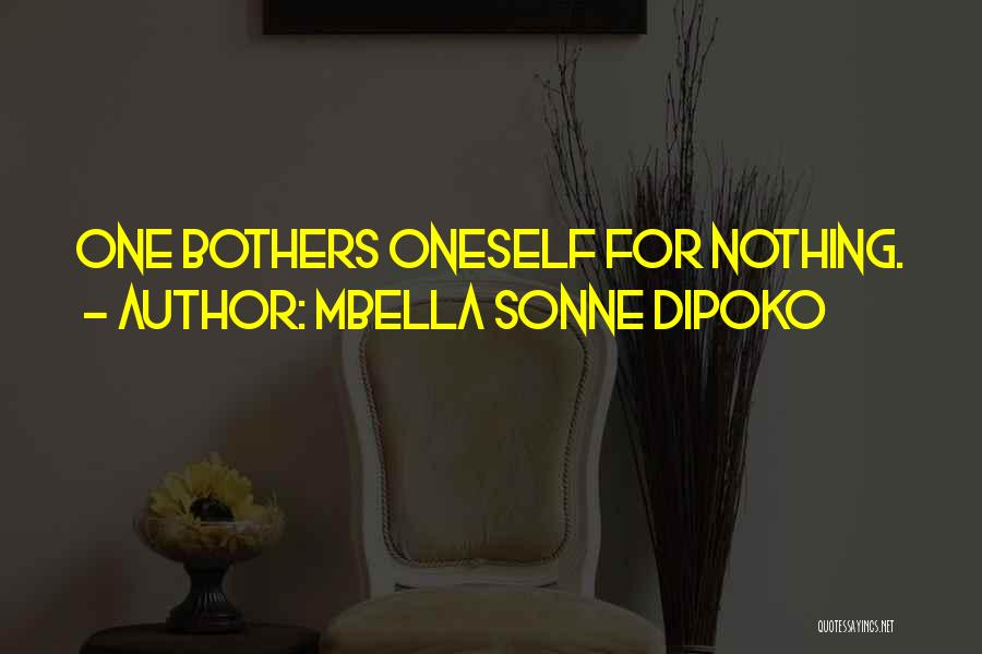 Sonne Quotes By Mbella Sonne Dipoko