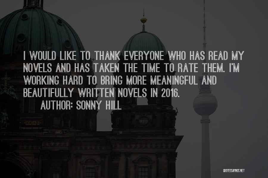 Sonny Hill Quotes 1867483
