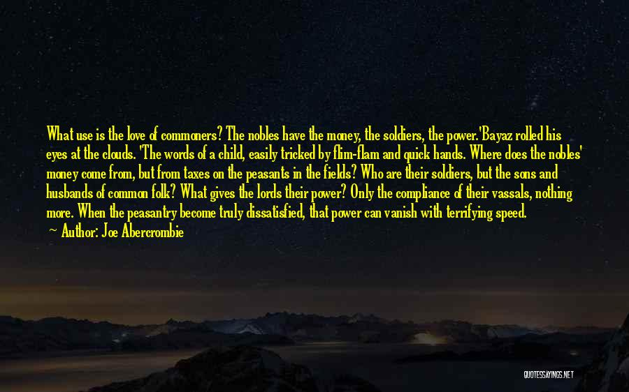 Sons And Husbands Quotes By Joe Abercrombie