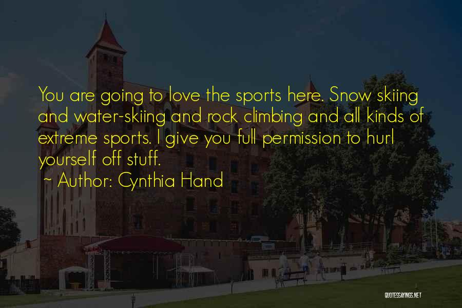 Sons And Mothers Love Quotes By Cynthia Hand