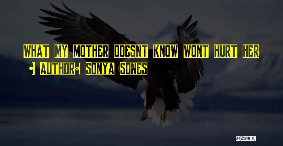 Sonya Sones Quotes 1740691