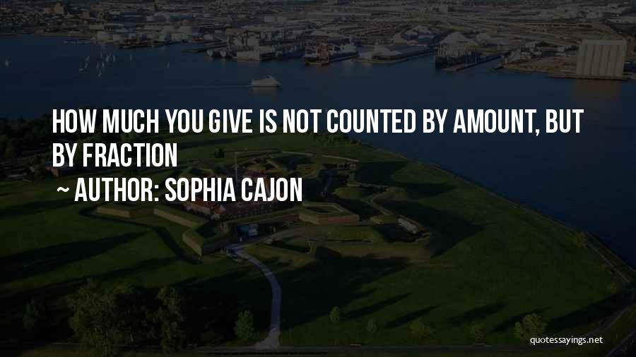 Sophia Cajon Quotes 1561354