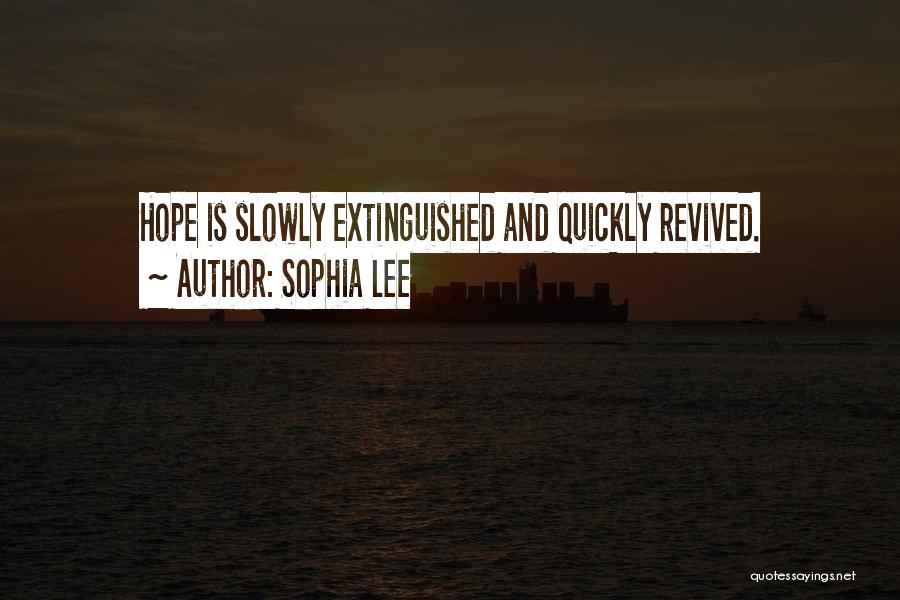 Sophia Lee Quotes 1112017