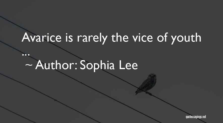 Sophia Lee Quotes 1469955