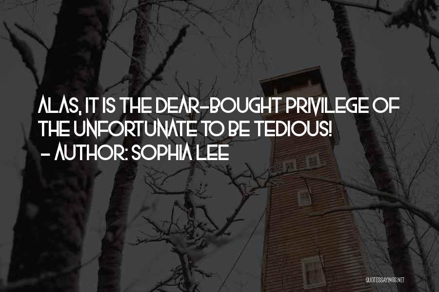 Sophia Lee Quotes 440607